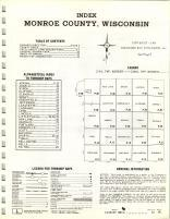 Index Map, Monroe County 1968